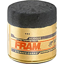 Fram XG10060 Oil Filter - Canister, Direct Fit, Sold individually