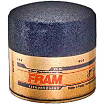 Fram XG16 Oil Filter - Canister, Direct Fit, Sold individually