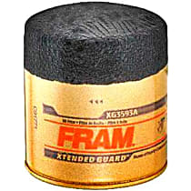 Fram XG3593A Oil Filter - Canister, Direct Fit, Sold individually