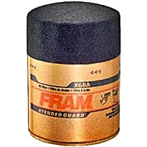 Fram XG8A Oil Filter - Canister, Direct Fit, Sold individually