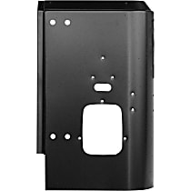 Tail Light Panel - Black, Direct Fit