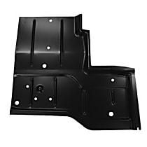 0480-227 L Floor Pan Repair Panel - Primed, Steel, Direct Fit