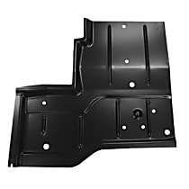 0480-228 R Floor Pan Repair Panel - Primed, Steel, Direct Fit