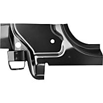 0724-211 Pillar Panel - Black, Direct Fit