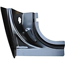 0724-214 Pillar Panel - Black, Direct Fit
