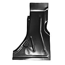 0810-222 R Floor Pan Repair Panel - Primed, Steel, Direct Fit