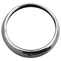 Key Parts 0846-055 Headlight Bezel - Chrome, Stainless Steel, Direct Fit, Sold individually