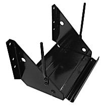 0846-241 U Battery Tray - Black, Steel, Direct Fit, Sold individually