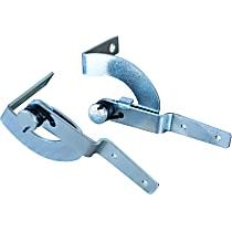0846-801 Door Hinge - Chrome, Direct Fit, Set of 2