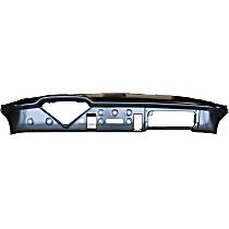 0847-009 Dash Panel - Black, Direct Fit