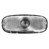 0847-529 Parking Light Lens - Clear, Direct Fit