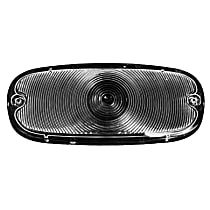 Key Parts 0847-530 Parking Light Lens - Clear, Direct Fit