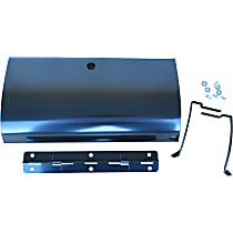 Key Parts 0847-800 Glove Box Door - Black, Direct Fit