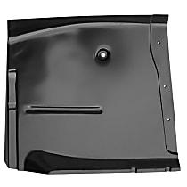 0848-217 L Floor Pan Repair Panel - Primed, Steel, Direct Fit