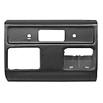 Key Parts 0848-350 U Dash Panel - Black, Plastic, Direct Fit