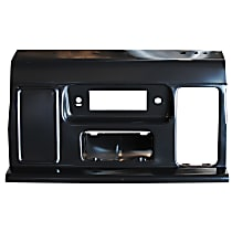 Key Parts 0848-351 U Dash Panel - Black, Plastic, Direct Fit
