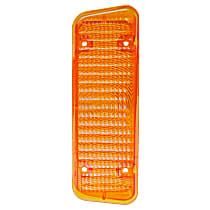 0849-027 L Parking Light Lens - Amber, Direct Fit