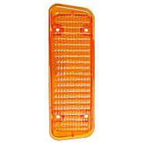 0849-028 R Parking Light Lens - Amber, Direct Fit