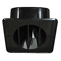 Key Parts 0849-179 Air Vent - Black, Steel, Direct Fit