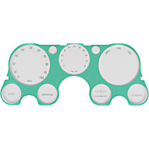 Key Parts 0849-185 Instrument Cluster Panel Accent - Green, Direct Fit