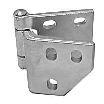 0849-207 L Door Hinge - Driver Side, Lower, Stainless Steel, Steel, Direct Fit, Sold individually
