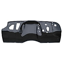 Key Parts 0849-229 Dash Panel - Black, Plastic, Direct Fit