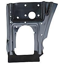 0849-231 Dash Panel - Black, Plastic, Direct Fit