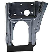 Key Parts 0849-231 Dash Panel - Black, Plastic, Direct Fit