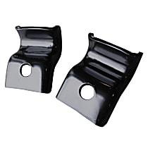 Key Parts 0849-245 Seat Bracket - Black, Direct Fit