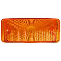 0849-523 L Parking Light Lens - Amber, Direct Fit