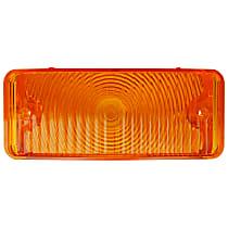 0849-524 R Parking Light Lens - Amber, Direct Fit