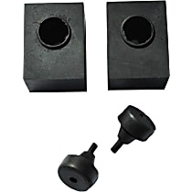Key Parts 0849-713 Tailgate Rubber Stop - Direct Fit