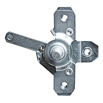 Key Parts 0849-812 R Door Latch Bracket - Direct Fit