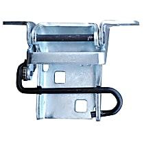 0850-206 Door Hinge - Upper, Passenger Side, Stainless Steel, Steel, Direct Fit, Sold individually