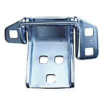 Key Parts Door Hinge - 0850-207 - Lower, Driver Side, Stainless Steel, Steel, Direct Fit, Sold individually