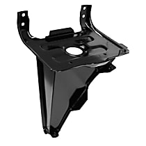 0851-240 U Battery Tray - Black, Steel, Direct Fit, Sold individually