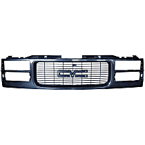 0853-045 Grille, Gloss Black