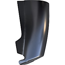 0864-116 Corner Guards - Painted Black, Direct Fit