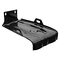 1981-240 U Battery Tray - Black, Steel, Direct Fit, Sold individually