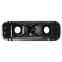 Key Parts 95-13-74-5 Seat Riser - Black, Steel, Direct Fit, Sold individually