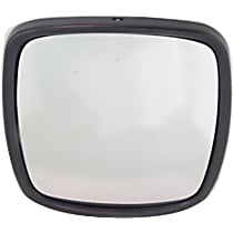 Driver or Passenger Side Heated Mirror Glass, Without Turn Signal Light