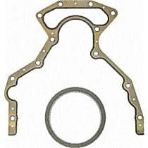 Rear Main Seal - Rubber, Direct Fit, Sold individually Rear