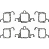 Felpro MS90200 Exhaust Manifold Gasket - Direct Fit, Set