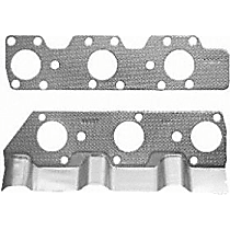 Felpro MS91815 Exhaust Manifold Gasket - Direct Fit, Set of 2