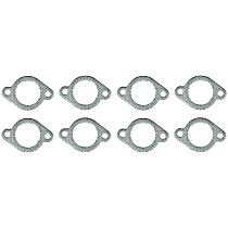 Felpro MS92568 Exhaust Manifold Gasket - Steel core laminate, Direct Fit, Set of 2