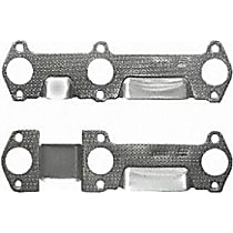 MS93692 Exhaust Manifold Gasket - Direct Fit, Set of 2