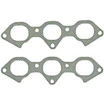 Felpro MS96166 Exhaust Manifold Gasket - Direct Fit, Set