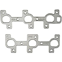 Felpro MS96344-1 Exhaust Manifold Gasket - Steel, Direct Fit, Sold individually