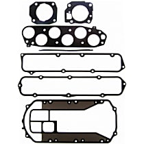 Felpro MS96384-1 Intake Plenum Gasket - Direct Fit, Set
