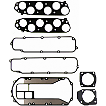 Felpro MS96384 Intake Plenum Gasket - Direct Fit, Set